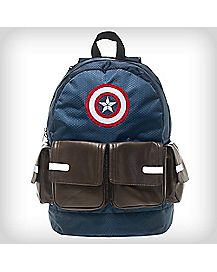 Multipocket Suit Up Captain America Backpack