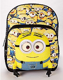 3D Minions Backpack