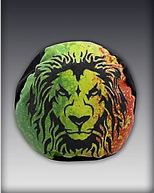 Rasta Lion Foot Bag