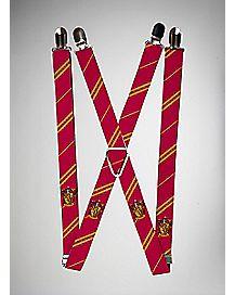Gryffindor Harry Potter Suspenders