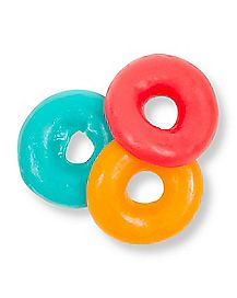 Liqoured Gummy Candy Pecker Rings