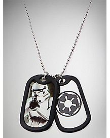 Clone Trooper Star Wars Dog Tag Necklace