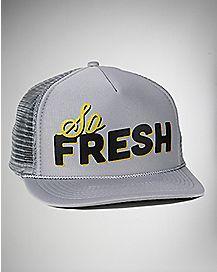 So Fresh Grey Trucker Hat