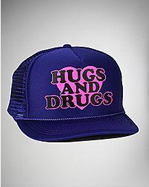 Hugs and Drugs Trucker Hat