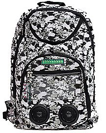 Selfie Remote Splatter Audio Backpack