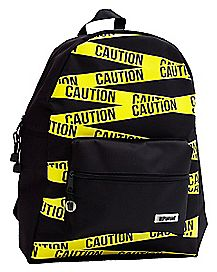 Caution Tape Backpack