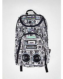 Selfie Remote Boombox Audio Backpack