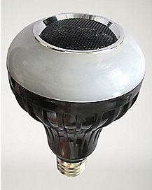 Dimmable White Light with Remote Bluetooth Speaker