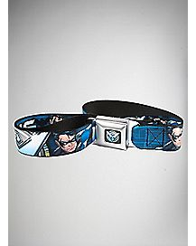 Nightwing Seatbelt Belt - DC Comics