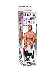 Classix Vibrating Power Penis Pump