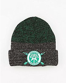 Logo Cuff Arrow Beanie Hat