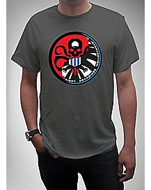 Hydra Shield Mix Logo T shirt