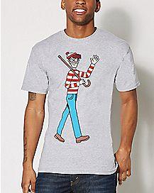 Walking Where's Waldo T shirt