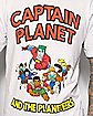 Captain Planet and the Planateers T shirt