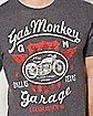 Gas Monkey Moto Gear T shirt