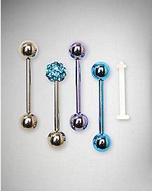 Blue Barbell 4 Pack - 14 Gauge