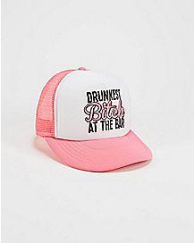 Drunkest Bitch Bar Trucker Hat