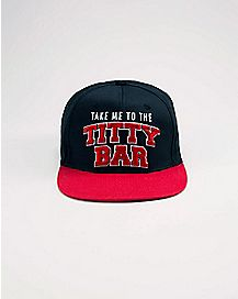 Titty Bar Snapback Hat
