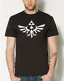 Logo Zelda T Shirt - The Legend of Zelda
