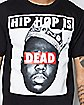 Biggie Hip Hop is Dead Tee