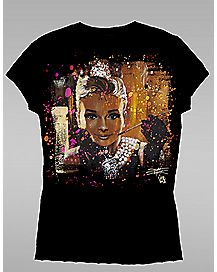 Audrey Breakfast At Tiffany T shirt