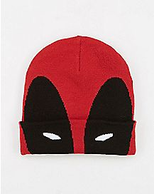 Deadpool Cuff Beanie Hat - Marvel