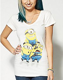 Group Shot Despicable Me T Shirt