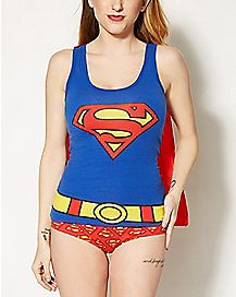 Superman Caped Pajama Set