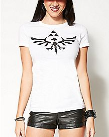 Triforce Logo Zelda T shirt