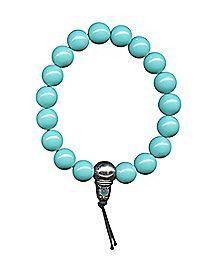 Turquoise-Effect Luck Power Bead Bracelet
