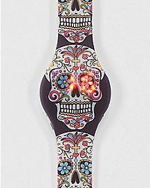 Sugar Skull LED Watch