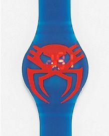 Amazing Spiderman LED Watch Blue