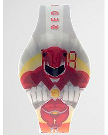 Red Power Ranger LED Watch