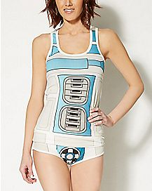 R2D2 Tank Top Pajama Set