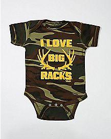 I Love Big Racks Baby Bodysuit