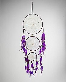 Three Tier Feathers Dream Catcher