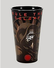 Star Wars The Force Awakens Galaxy Pint Glass 16 oz