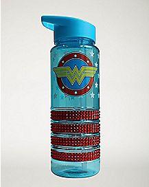 Bling Wonder Woman Water Bottle 25 oz