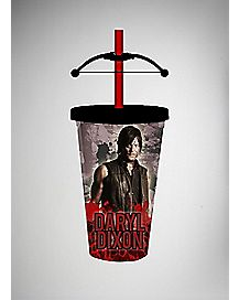 Daryl Bow Walking Dead Carnival Cup with Straw