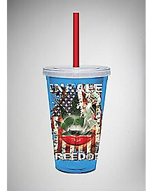 Inhale Freedom Cup with Straw - 16 oz