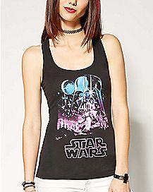 Starry Star Wars Tank Top