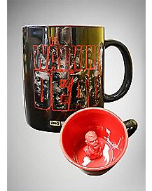 Molded Zombie The Walking Dead Coffee Mug 20 oz