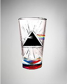 Dark Of The Moon Pink Floyd Pint Glass 19 oz