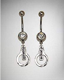 Partners in Crime Belly Ring 2 Pack - 14 Gauge