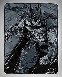 Batman Arkham Fast Bat Fleece Blanket