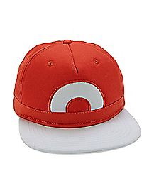 Ash Pokemon Snapback Hat