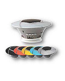 Rotating LED Bluetooth Speaker
