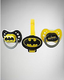 Batman Pacifier 3 Pack