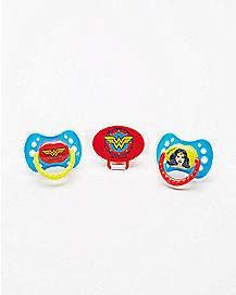 Wonder Woman Pacifier 3 Pack