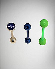 NFL Seattle Seahawks Barbells 3 Pack - 14 Gauge